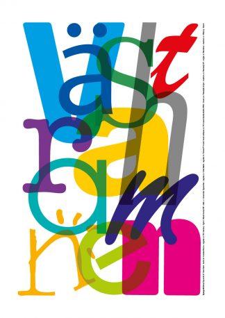 Västra hamnen, Poster, typografiskt.se