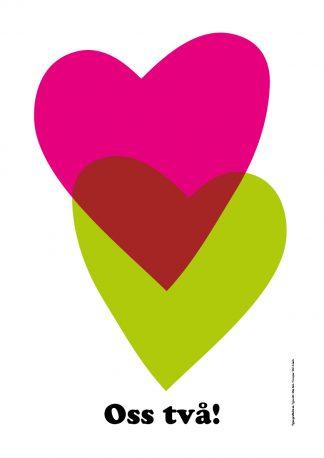 Oss två, Kärlek